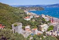 Uitzicht op Portovenere Cinque Terre Italie