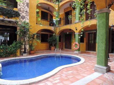 Hotel Haciende del Caribe zwembad Playa del Carmen Mexico