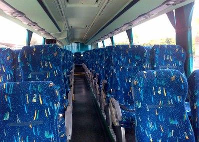 Bus binnenkant Tenerife