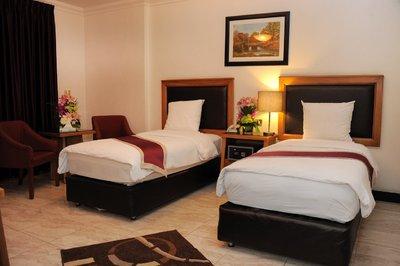Rae'd Hotel Suites kamer Aqaba Jordanie