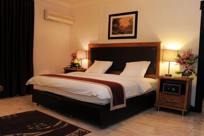 Rae'd Hotel Suites kamer double Aqaba Jordanie