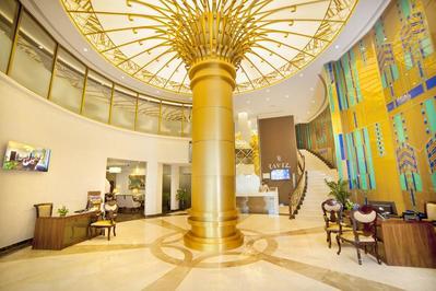 Center Point Hotel receptie Raviz Dubai