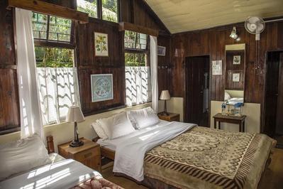 Slaapkamer Holumba Haven Kalimpong India Djoser