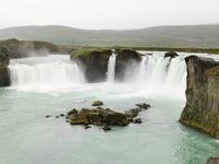 Goðafoss waterval IJsland