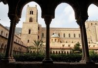Kerk klooster Monreale Sicilië Italië