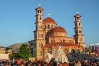 Kerk Korca Albanië
