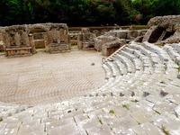 Amfitheater Butrint Albanië