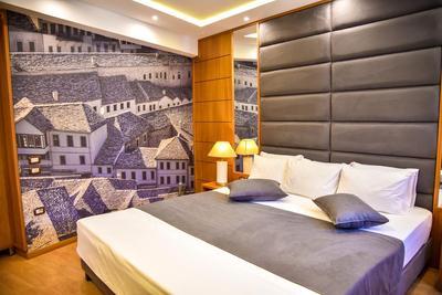 Hotel Cajupi kamer double Gjirokastra Albanie
