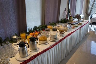 Filokalia Hotel ontbijt Ioannina Griekenland