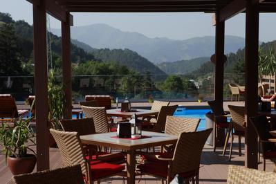 Best Western Paradise ontbijt Dilijan Armenie