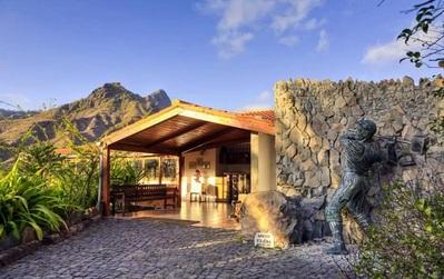 Hotel Pedracin Village receptie Santo Antao Kaapverdie