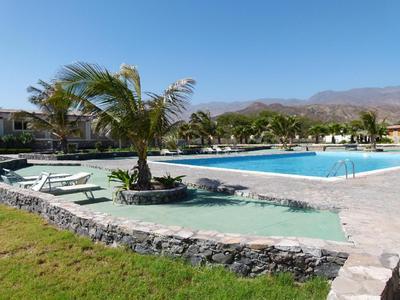 Hotel Santa Antao Resort zwembad Santo Antao Kaapverdie