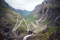 Trollstigen weg Noorwegen