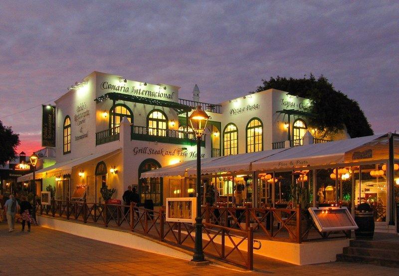 Restaurantjes op Lanzarote