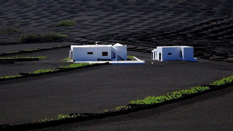 Traditionele witte huisjes