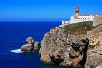 Vuurtoren Cabo de Sao Vicente Sagres Algarve Portugal