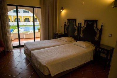 Hotel Dom Fernando kamer Evora Portugal