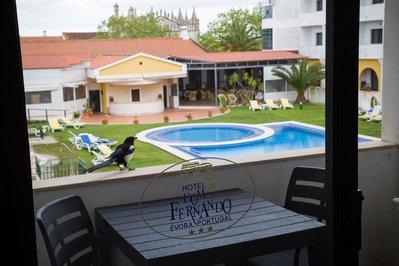 Hotel Dom Fernando zwembad Evora Portugal