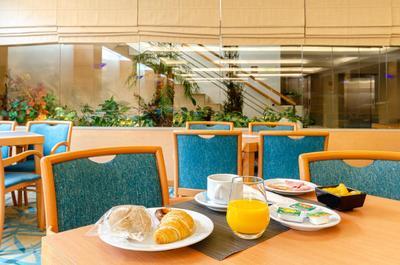 Hotel Roma ontbijt Lissabon Portugal