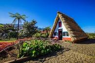Santana huis Madeira