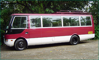 Costa Rica bus vervoersmiddel Djoser