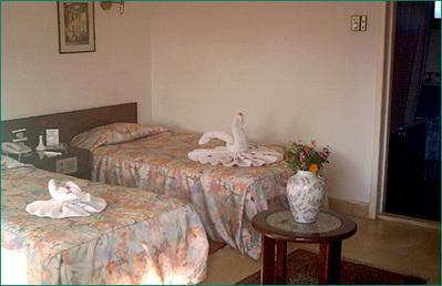 Egypte overnachting hotel Djoser