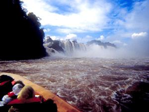 Foz do Iguaçu - bootje