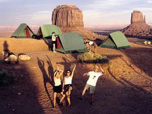 Monument valley - campsite