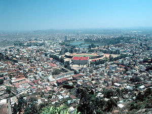 Antananarivo – stadsgezicht