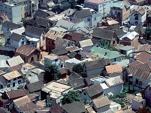 Antananarivo – daken van huizen
