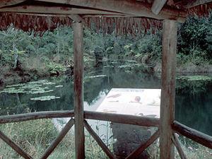 Perinet – vogelbord Lac Vert