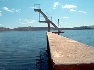 Lac Andraikibi - zwemsteiger
