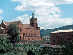 Ambositra – kerk