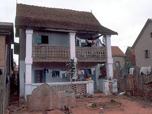 Ambalavao – Betsileo huis
