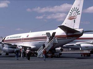 Vliegtuig Air Madagsacar
