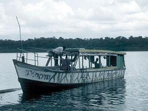 Surinamerivier - jungleboot