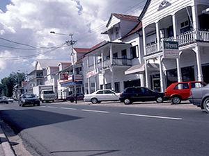 Paramaribo - koloniale panden
