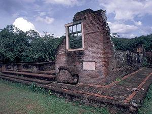 Joden Savanne - resten Joodse synagoge