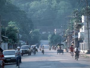 Vientiane - straatbeeld
