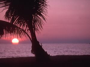 Ko Chang - zonsondergang