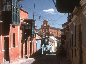 Potosi - straatbeeld