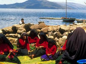 Isla Amantaní - bevolking