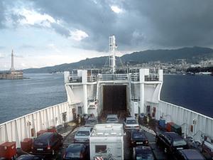 Ferry naar Sicilië
