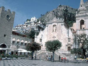 Taormina - plein
