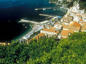 De beroemde Amalfikust