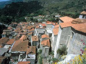 Rossano - zicht op stad