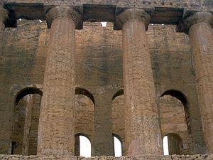 Agrigento - tempel detail