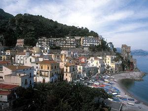 Amalfi - dorpje langs kust