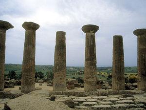 Agrigento - pilaren