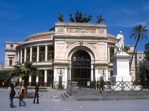 Palermo - theater